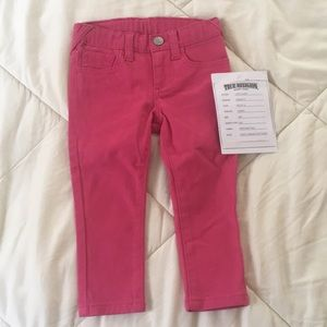 Very adorable true religion jeans for 18month